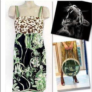 Emilio Pucci Dresses - EMILIO PUCCI FIRENZE SILK DRESS - RUNS SMALL